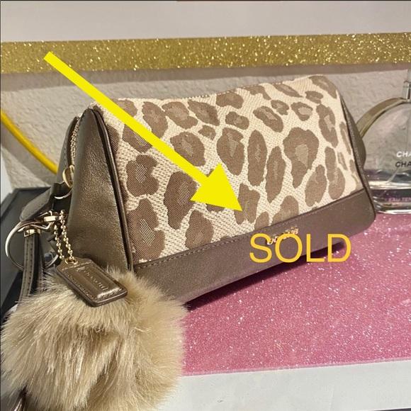 "Coach Handbags - Original "" COACH"" Cosmetic bag"